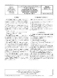 Pojazdy samochodowe - Przyjmowanie do naprawy całopojazdowej samochodów ciężarowych i autobusów - Wymagania i badania BN-86/3615-18