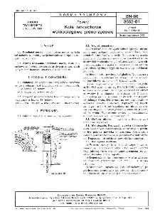 Rowery - Koła łańcuchowe wolnobiegowe jednorzędowe BN-86/3652-01