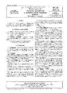 Rowery wyścigowe - Hamulce szczękowe z symetrycznym cięgnem giętkim - Wymagania i badania BN-86/3652-19