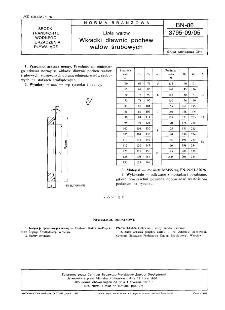 Linia wałów - Wkładki dławic pochew wałów śrubowych BN-86/3795-09/05