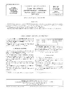 Drzwi do chłodni prowiantowych okrętowe - Wymiary główne i wymagania techniczne BN-87/3712-06