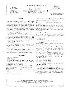 Drzwi okrętowe przeciwpożarowe klasy A i B - Wymagania i badania BN-87/3712-31