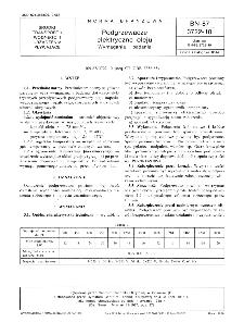 Podgrzewacze elektryczne oleju - Wymagania i badania BN-87/3722-10