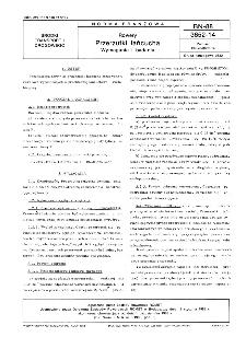 Rowery - Przerzutki łańcucha - Wymagania i badania BN-88/3652-14
