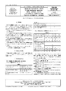 Okrętowe wymienniki ciepła - Podgrzewacze parowe oleju, paliwa, wody i skraplacze nadmiarowe - Ogólne wymagania i badania BN-88/3722-08