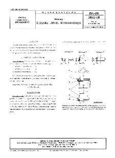 Rowery - Łożyska układu kierowniczego BN-89/3652-06