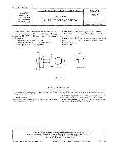 Linia wałów - Śruba zabezpieczająca BN-89/3795-10