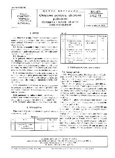 Okrętowe pokrycia lakierowe podwodne - Wymagania i badania własności przeciwkorozyjnych BN-90/3702-11