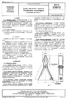 Pojazdy samochodowe i przyczepy - Urządzenia uziemiające - Wymagania podstawowe BN-71/3688-02