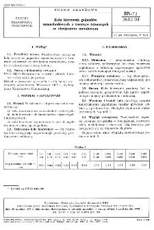 Koła kierownic pojazdów samochodowych z tworzyw sztucznych ze zbrojeniem metalowym BN-72/3613-04