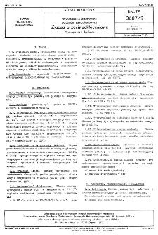 Wyposażenie elektryczne pojazdów samochodowych - Złącza przeciwzakłóceniowe - Wymagania i badania BN-75/3687-19