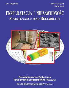Eksploatacja i Niezawodność = Maintenance and Reliability Nr 4 (40)2008