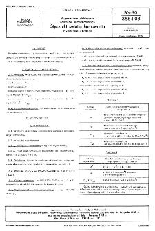 Wyposażenie elektryczne pojazdów samochodowych - Styczniki światła hamowania - Wymagania i badania BN-80/3684-03