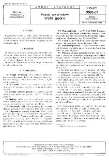 Pojazdy samochodowe - Wałki giętkie BN-81/3686-01