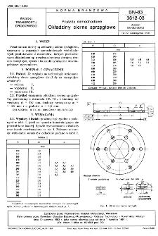 Pojazdy samochodowe - Okładziny cierne sprzęgłowe BN-83/3612-03