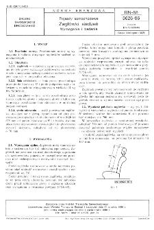 Pojazdy samochodowe - Zagłówki siedzeń - Wymagania i badania BN-88/3626-06