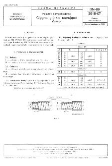 Pojazdy samochodowe - Cięgna giętkie sterujące - Osłony BN-89/3616-07