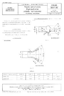 Pojazdy samochodowe - Hydrauliczne układy hamulcowe - Przewody metalowe BN-90/3617-09