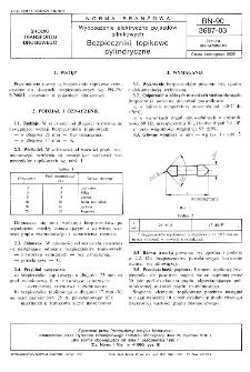 Wyposażenie elektryczne pojazdów silnikowych - Bezpieczniki topikowe cylindryczne BN-90/3687-03