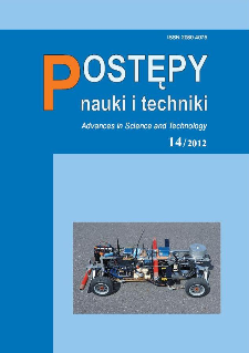 Postępy Nauki i Techniki = Advances in Science and Technology 14/2012