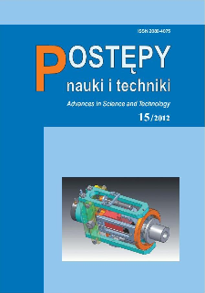 Postępy Nauki i Techniki = Advances in Science and Technology 15/2012
