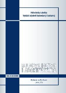 Budownictwo i Architektura Vol. 3(2)2008