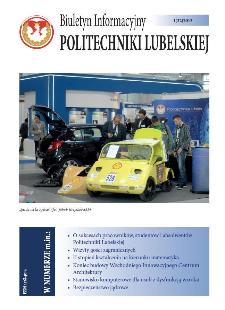 Biuletyn Informacyjny Politechniki Lubelskiej nr 32 - 1(32)2013