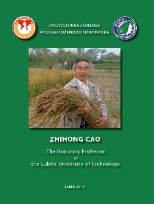 Professor Zhihong Cao Ph.D. : The Honorary Professor of the Lublin University of Technology