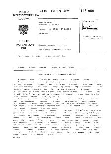 Sposób otrzymywania glukonianu żelazawego : opis patentowy nr 146898