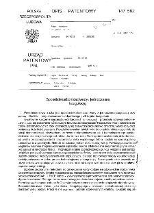Sposób dekarbonizacji wody z jednoczesną koagulacją : opis patentowy nr 147582