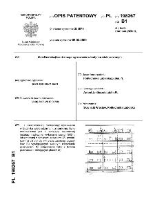 Układ instalacji centralnego ogrzewania w budynku wielorodzinnym : opis patentowy nr 198267