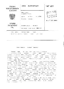 Sposób otrzymywania glukonianu magnezowego : opis patentowy nr 147891
