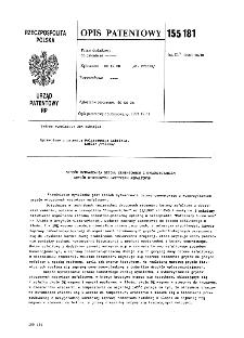 Urządzenie do badania oporów tarcia : opis patentowy nr 170088