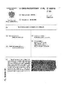 Sposób otrzymywania ozdobnych powłok niklowych : opis patentowy nr 163018