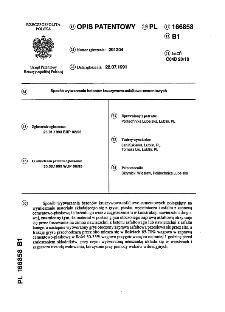 Sposób wytwarzania betonów kruszywowo-asfaltowo-cementowych : opis patentowy nr 166858