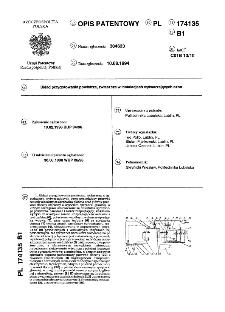 Układ przygotowania powietrza, zwłaszcza w instalacjach wytwarzających ozon : opis patentowy nr 174135