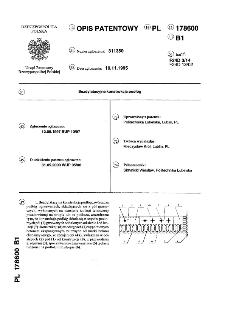 Bezdylatacyjna konstrukcja podłóg : opis patentowy nr 178600