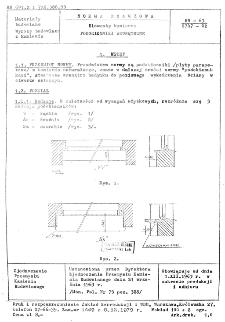 Elementy kamienne - Podokienniki wewnętrzne BN-63/6747-02