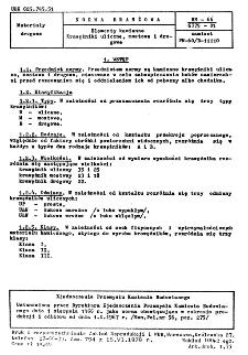 Elementy kamienne - Krawężniki uliczne, mostowe i drogowe BN-66/6775-01