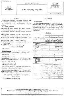 Maty z trzciny pospolitej BN-69/6756-05