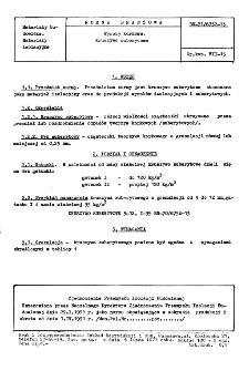Wyroby korkowe - Kruszywo suberytowe BN-71/6752-13