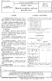 Wyroby ze słomy - Maty do ocieplania ogólnego przeznaczenia BN-72/6756-06