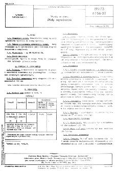 Wyroby ze słomy - Maty ogrodnicze BN-73/6756-07