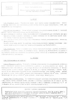 Beton hydrotechniczny - Metody badań - Szybka ocena mrozoodporności bez zamrażania próbek BN-74/6739-03