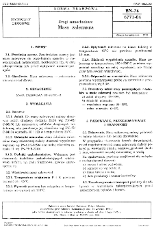 Drogi samochodowe - Masa zalewowa BN-74/6771-04