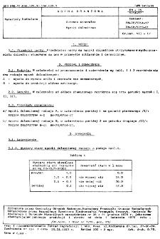 Surowce mineralne - Mączki dolomitowe BN-75/6714-17