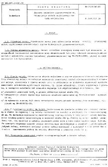 Zaprawy budowlane gipsowo-wapienne - Odtworzenie składu wyjściowego metodą analityczną BN-75/6730-07