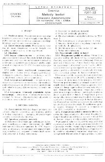 Ceramika - Metody badań - Oznaczanie dylatometryczne dla surowców, mas i szkliw ceramicznych BN-85/7011-33