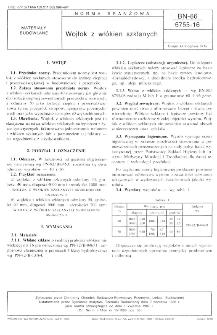 Wojłok z włókien szklanych BN-86/6755-16