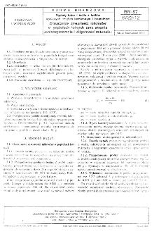 Popioły lotne i żużle z kotłów opalanych węglem kamiennym i brunatnym - Oznaczanie zawartości mikrosfer w popiołach lotnych oraz stopnia zanieczyszczenia i wilgotności mikrosfer BN-87/6722-12